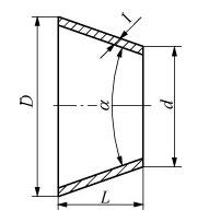 球面密封结构锥形垫片的系列化研究