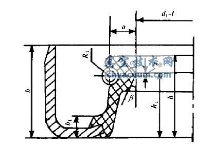 典型外露骨架油封结构及主要参数