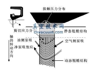泵吸微观模型示意图