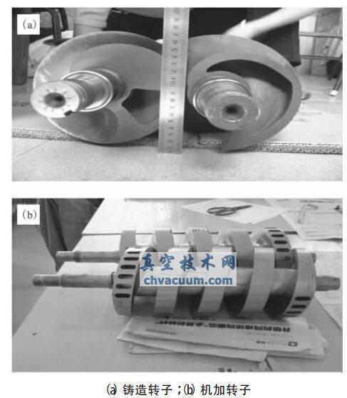 螺杆真空泵单头等螺距螺杆转子的一种动平衡简便算法