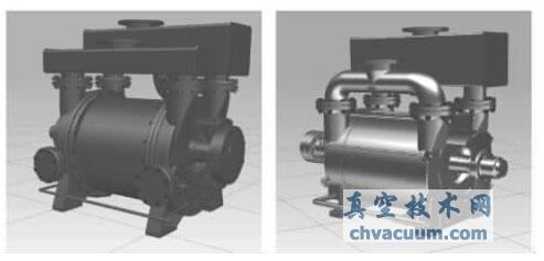 NX参数化设计在2BE型水环真空泵中的应用