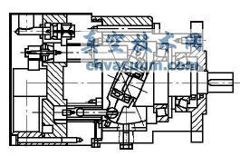 斜盘连杆阀配流式海水泵