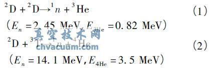 用于中子照相的定向高通量中子发生器设计