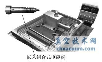 一种结构紧凑的嵌入组合式电磁阀的研制