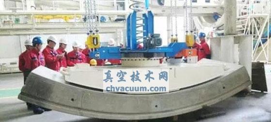 国内首台大直径盾构机用真空吸盘在铁建重工研制成功