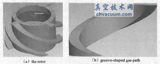 高真空干泵螺旋级抽气性能的数值计算模型