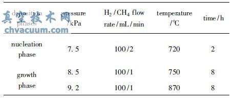 杆状氧化铍表面金刚石薄膜的生长