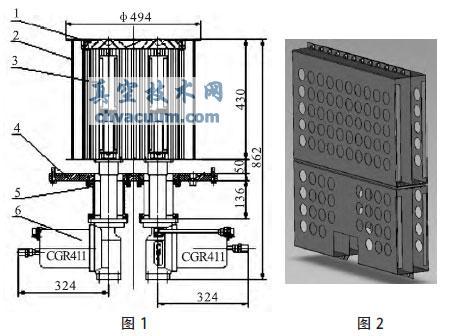 实验低温冷板抽气装置性能测试及分析