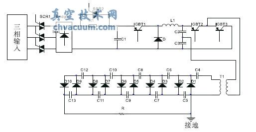 降压斩波电路进行调压控制,它是通过3525产生的pwm 波来控制igbt1 的