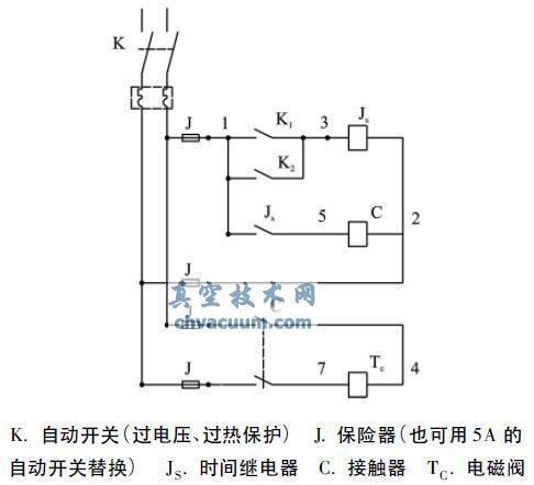 冲洗装置电气工作原理