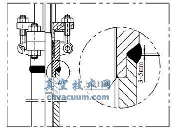 长颈阀盖承插焊缝质量的检测